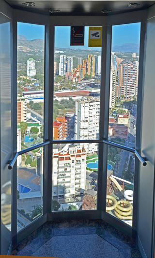 Penthouse with panoramic views in Benidorm 18252