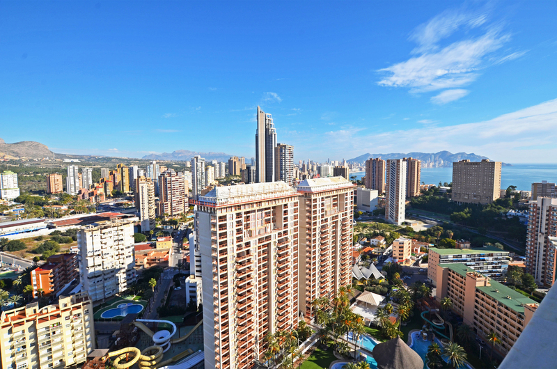 Penthouse with panoramic views in Benidorm 18254