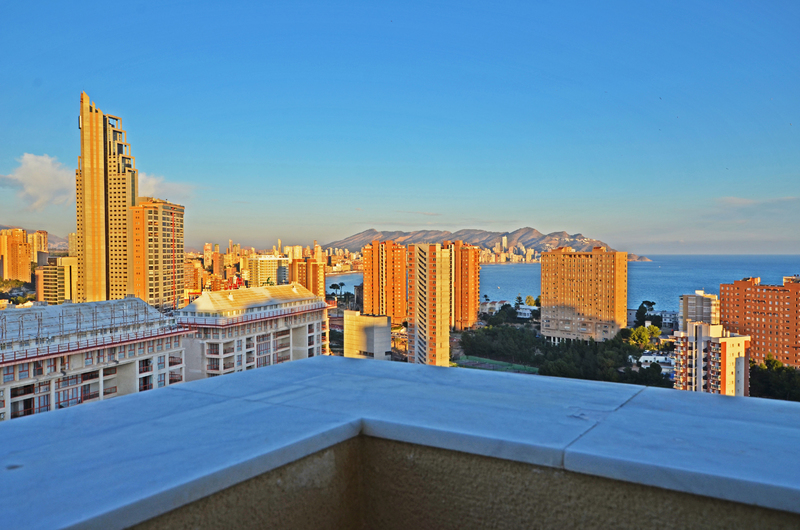 Penthouse with panoramic views in Benidorm 18287