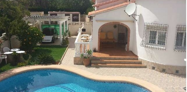 Two-storey house near Denia and its main beach 1058