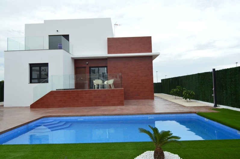 Villas in La Nucia and Polo 1416