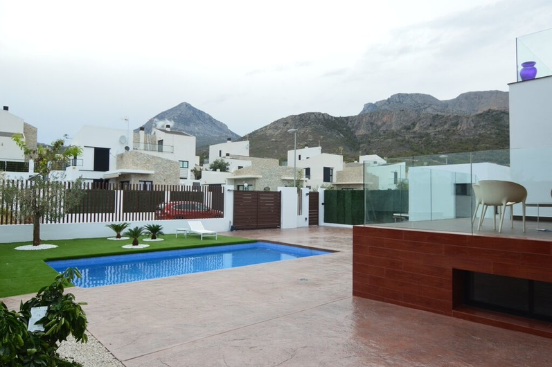 Villas in La Nucia and Polo 1419