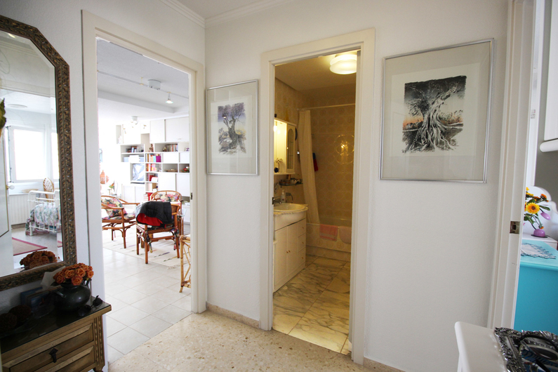 Apartment on the beach Poniente 4570