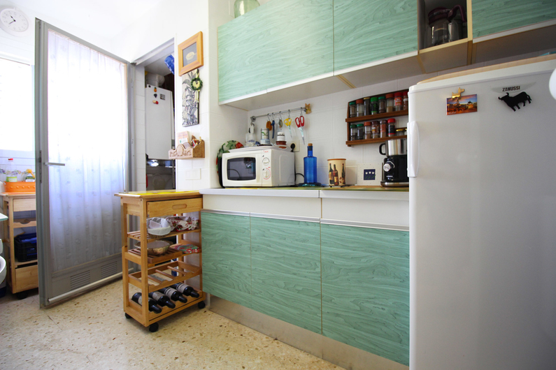 Apartment on the beach Poniente 4573