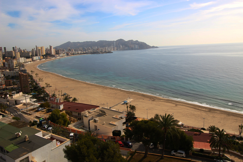 Apartment on the beach Poniente 4576