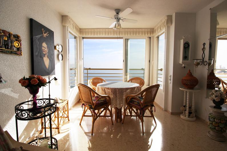 Apartment on the beach Poniente 4578