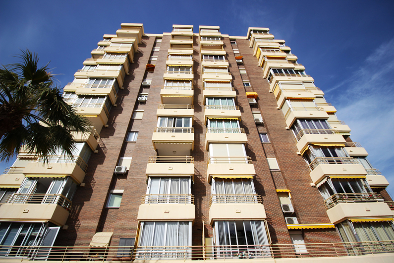 Apartment on the beach Poniente 4583
