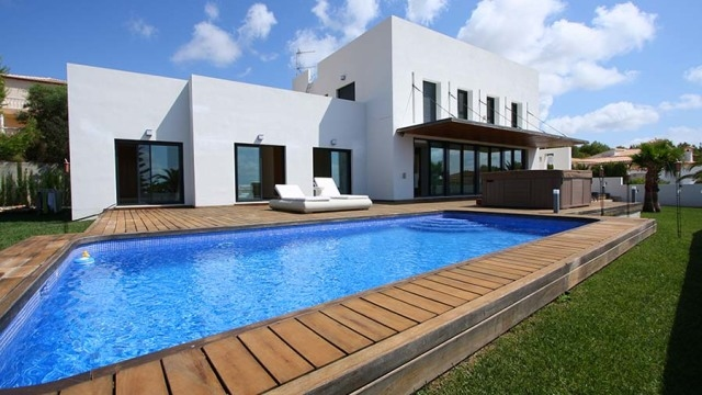 Villa in modern style of Calpe 4791