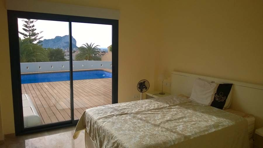 Villa in modern style of Calpe 4800