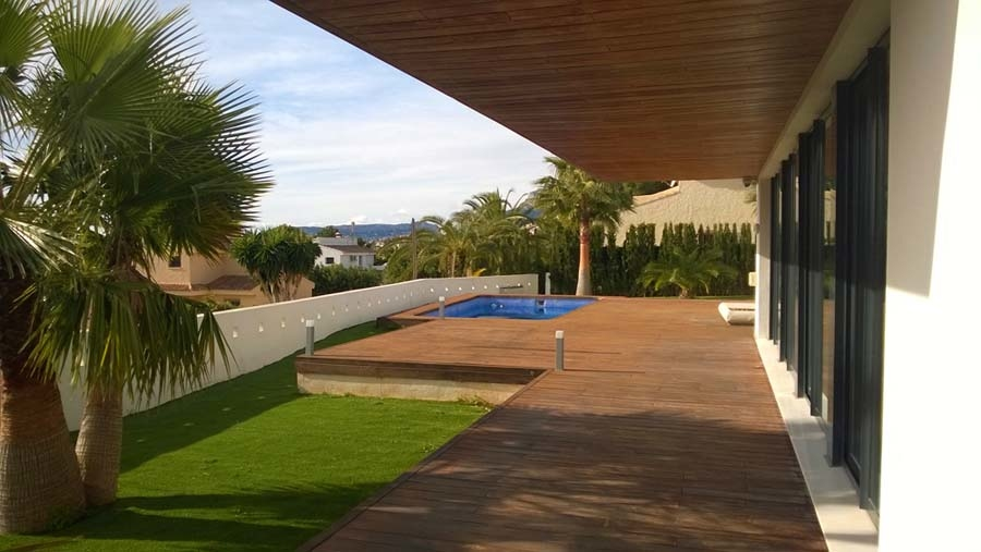 Villa in modern style of Calpe 4801