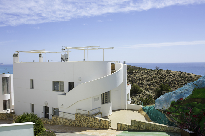 Villa with panoramic views in Villajoyosa 6929