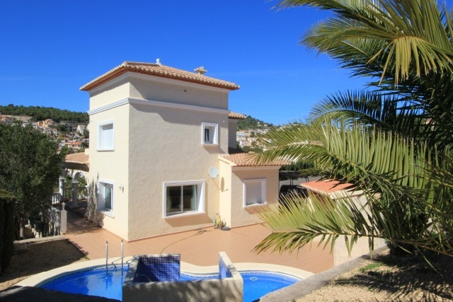 Villa in the elite area of ​​Calpe 7419