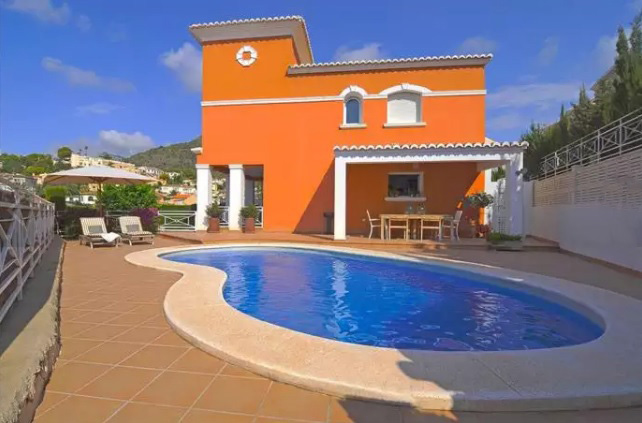 Villa near the beach in Calpe 7466