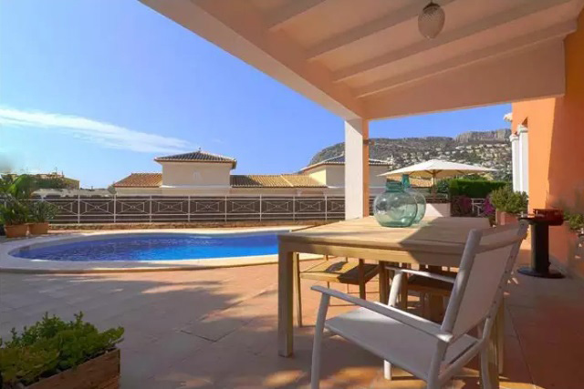 Villa near the beach in Calpe 7467