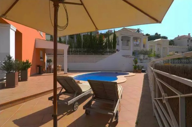 Villa near the beach in Calpe 7468