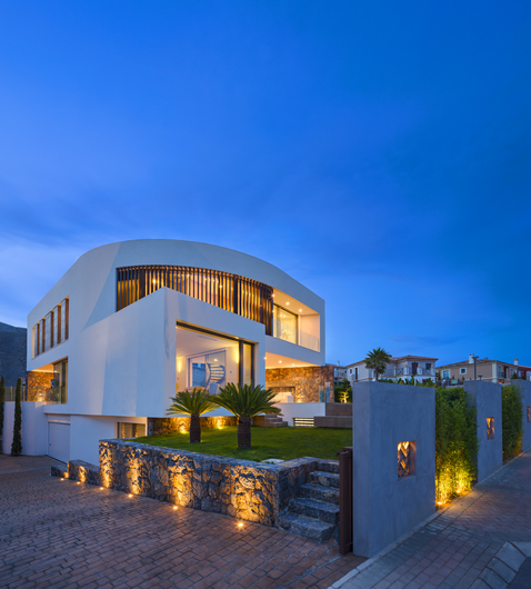 Magnificent villa with sea and mountain views 8325