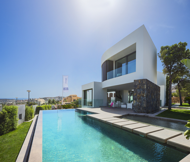 Magnificent villa with sea and mountain views 8330
