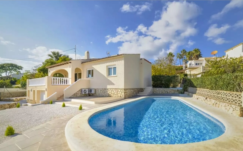 Villa with private pool in Calpe 9354