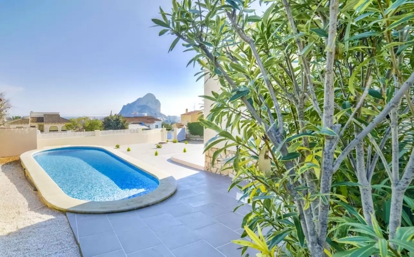 Villa with private pool in Calpe 9356