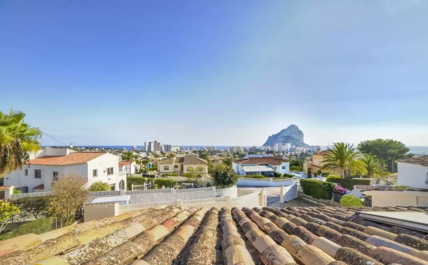 Villa with private pool in Calpe 9357