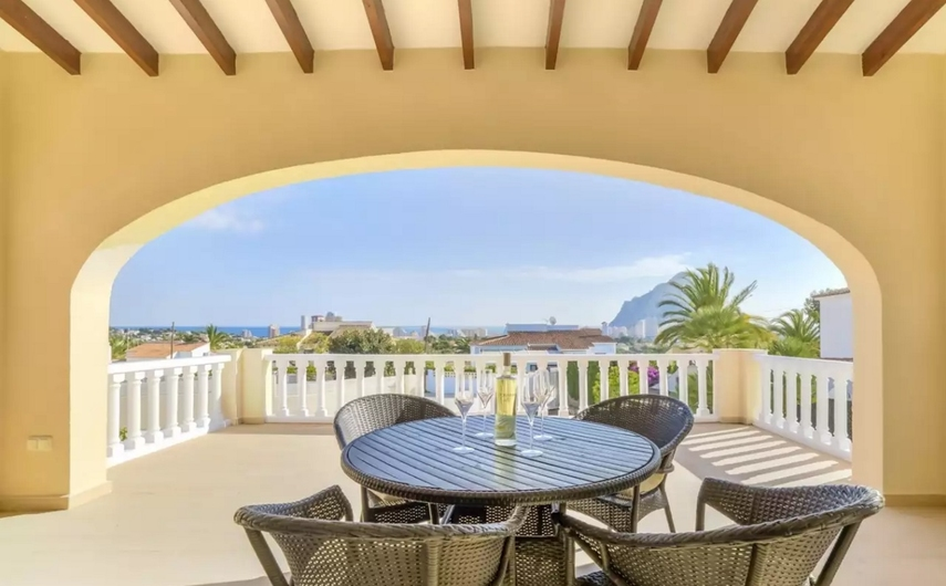 Villa with private pool in Calpe 9358