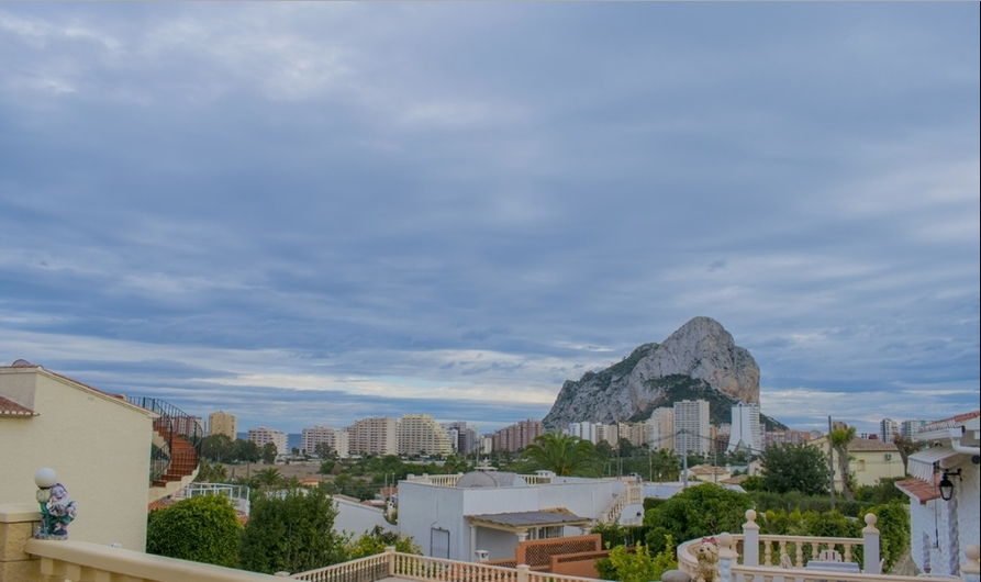 Comfortable house in Calpe 9725
