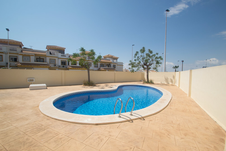 Bungalow on the beach of La Mata 11326