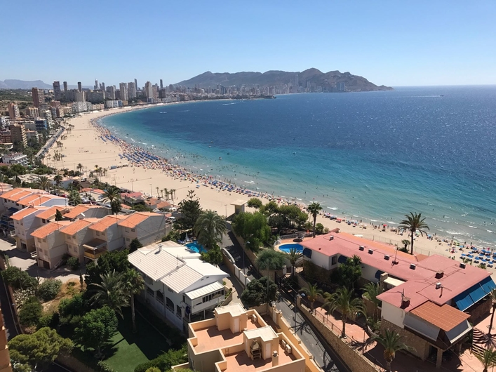 Apartment with view, Poniente beach 12206