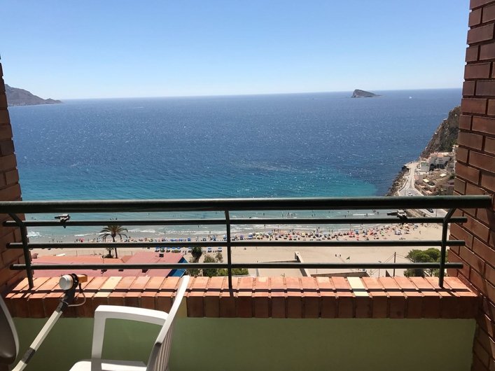 Apartment with view, Poniente beach 12212