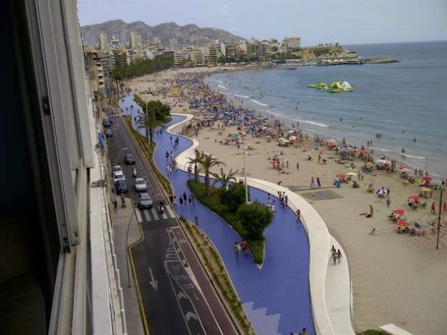 Apartments in Benidorm on the first line 12278