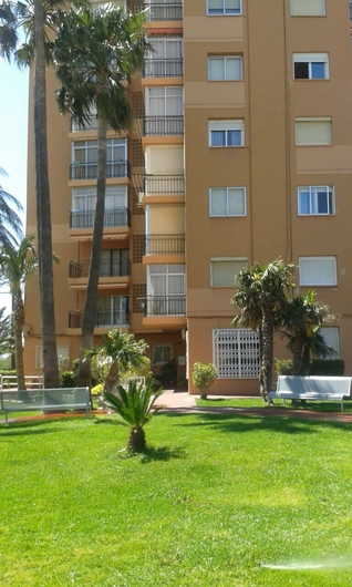 Apartments on the beach of Poniente 12294