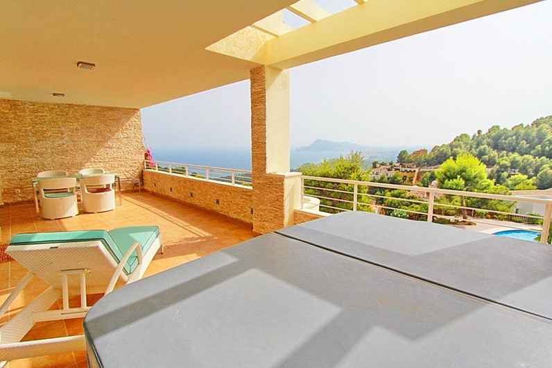 Exclusive business class apartments in Sierra Altea 12424