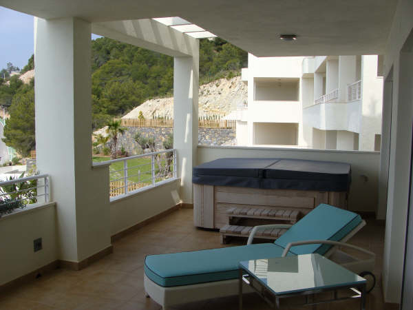 Exclusive business class apartments in Sierra Altea 12436
