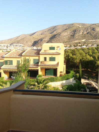 Townhouse 2 km from Benidorm 12648